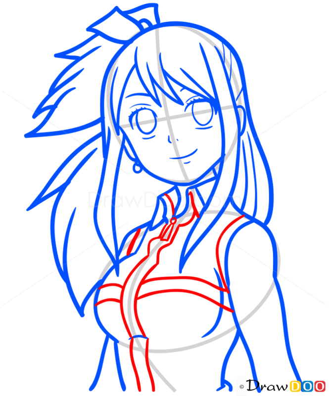 How to Draw Lucy, Fairy Tail