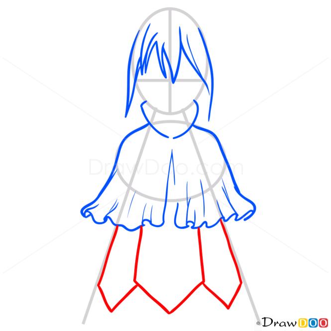How to Draw Mavis, Fairy Tail