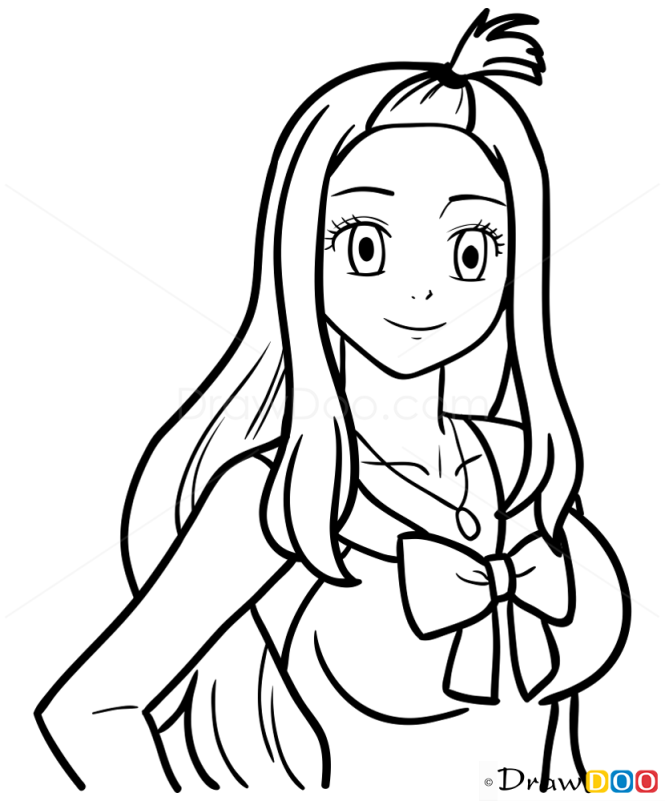 How to Draw Mirajane, Fairy Tail