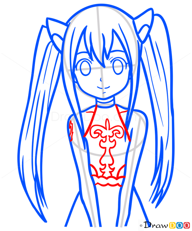 How to Draw Wendy, Fairy Tail