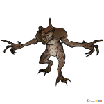 How to Draw Deathclaw, Fallout