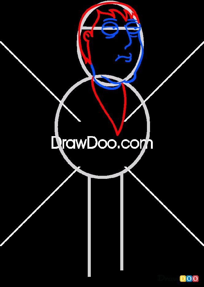 How to Draw Adam West, Family Guy