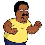 How to Draw Cleveland Brown, Family Guy