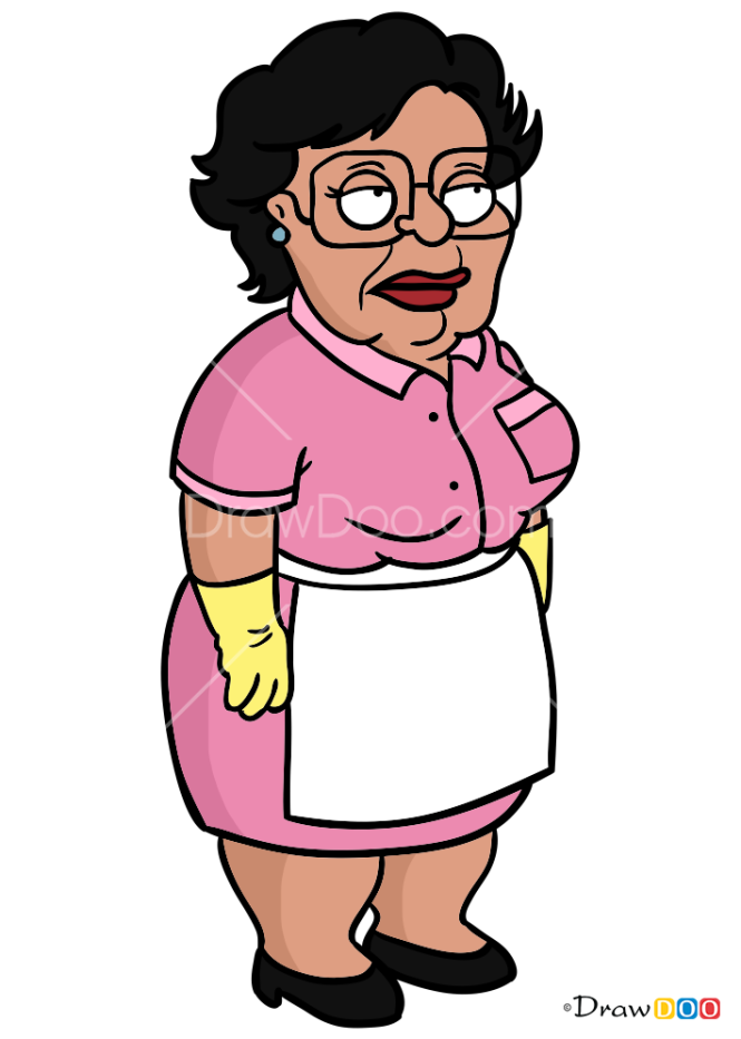 How to Draw Consuela, Family Guy