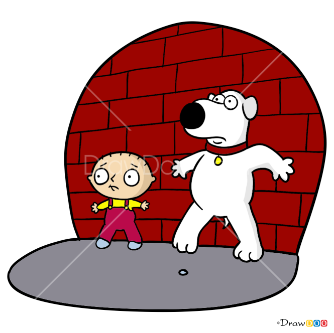 How to Draw Stewie and Brian, Family Guy