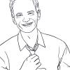 How to Draw Neil Patrick Harris, Famous Actors