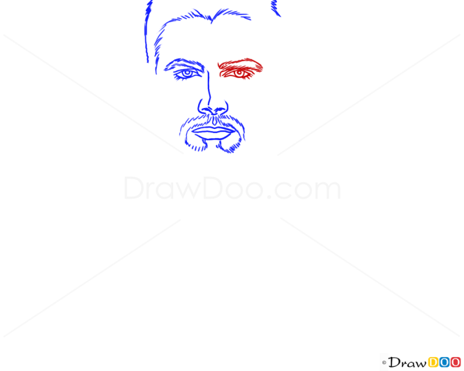 How to Draw Stephen Amell, Famous Actors