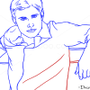 How to Draw Jensen Ackles, Famous Actors