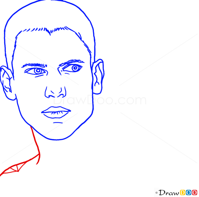 How to Draw Wentworth Miller, Famous Actors