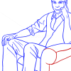How to Draw Jim Parsons, Famous Actors
