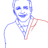 How to Draw Jason Segel, Famous Actors
