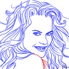 How to Draw Nicole Kidman, Famous Actors