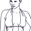 How to Draw Halle Berry, Famous Actors