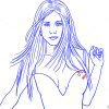 How to Draw Jennifer Aniston, Famous Actors