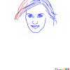 How to Draw Kate Winslet, Famous Actors