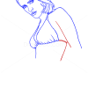How to Draw Salma Hayek, Famous Actors