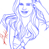 How to Draw Amy Adams, Famous Actors