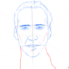How to Draw Nicolas Cage, Famous Actors