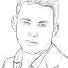 How to draw channing tatum famous actors