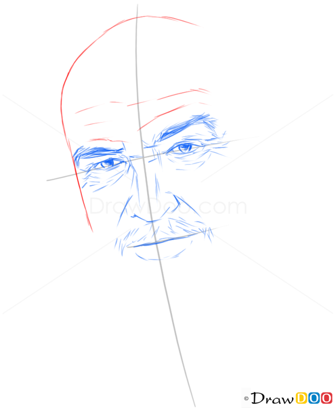 How to Draw Sean Connery, Famous Actors