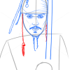 How to Draw Johnny Depp, Famous Actors
