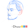 How to Draw Leonardo DiCaprio, Famous Actors