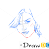 How to Draw Adrianne Palicki, Famous Actors