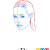 How to Draw Angelina Jolie, Famous Actors