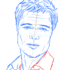 How to Draw Brad Pitt, Famous Actors