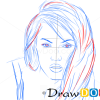 How to Draw Megan Fox, Famous Actors