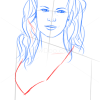 How to Draw Kim Basinger, Famous Actors