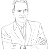 How to Draw Tom Hanks, Famous Actors