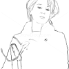How to Draw Meryl Streep, Famous Actors