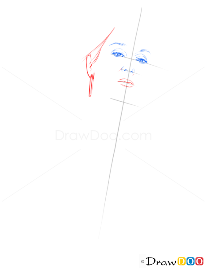 How to Draw Meryl Streep, Famous Actors