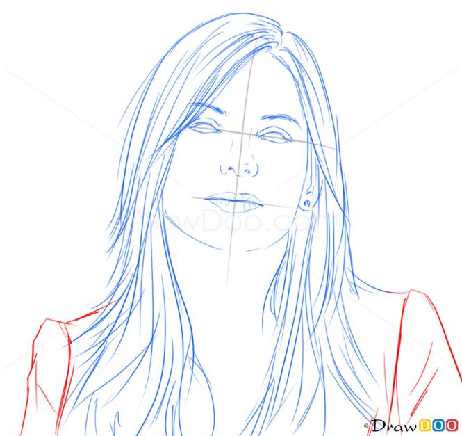 How to Draw Sandra Bullock, Famous Actors