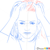 How to Draw Jodie Foster, Famous Actors