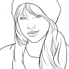 How to Draw Taylor Swift, Famous Singers