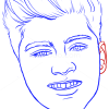 How to Draw Zayn Malik, Famous Singers