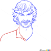 How to Draw Gotye, Famous Singers