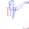 How to Draw Nate Ruess, Famous Singers