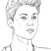 How to Draw Justin Bieber, Famous Singers