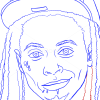 How to Draw Lil Wayne, Famous Singers