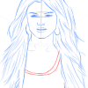 How to Draw Selena Gomez, Famous Singers