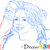 How to Draw Shakira, Famous Singers