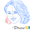How to Draw Miley Cyrus, Famous Singers