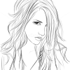 How to Draw Kesha, Famous Singers