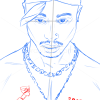 How to Draw Tupac Shakur, Famous Singers
