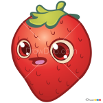 How to Draw Strawberry, Farm Heroes Saga