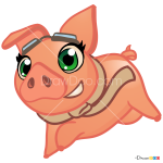How to Draw Pig, Farm Heroes Saga