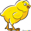 How to Draw Yellow Chicken, Farm Animals